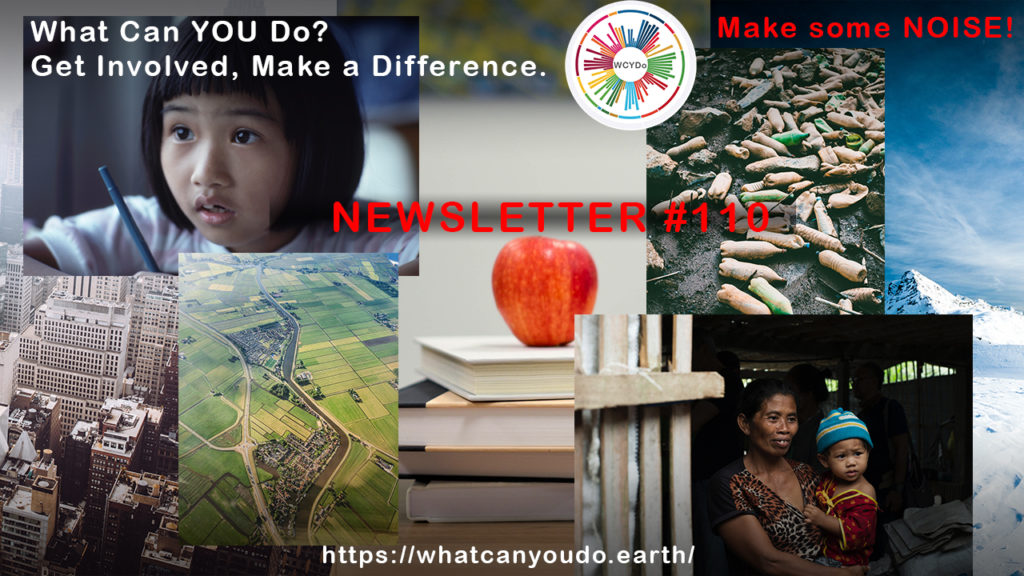What Can You Do Newsletter #110