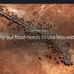 Why our food needs to use less water!