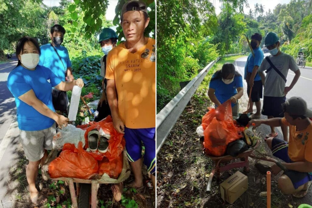 Litter Clearing in North Sulawesi (2)