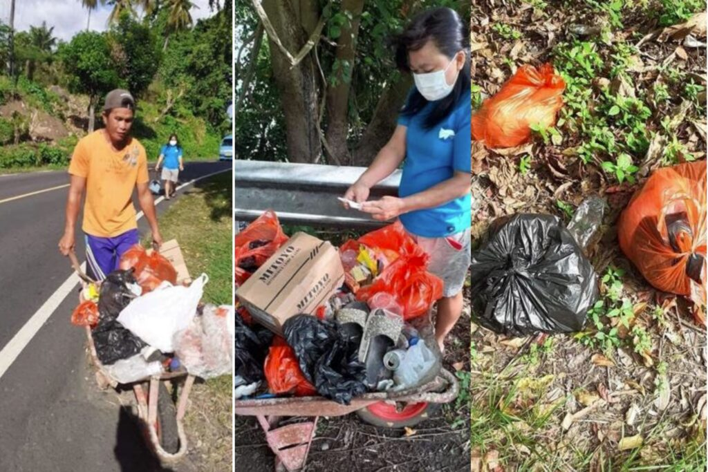 cleaning litter Indonesia